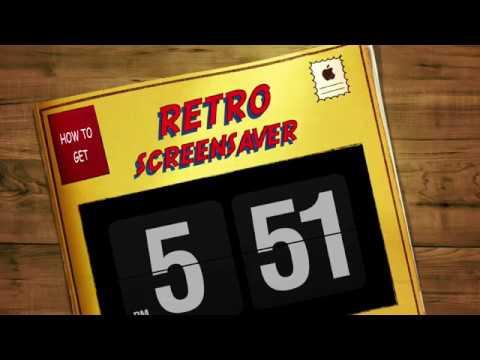 How To Get The Retro Clock Screensaver on Mac(And Windows)