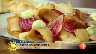 Jennys råvara: rotfrukt - Nyhetsmorgon (TV4)