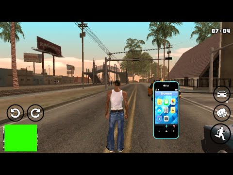 Phone mod For Gta Sa Android