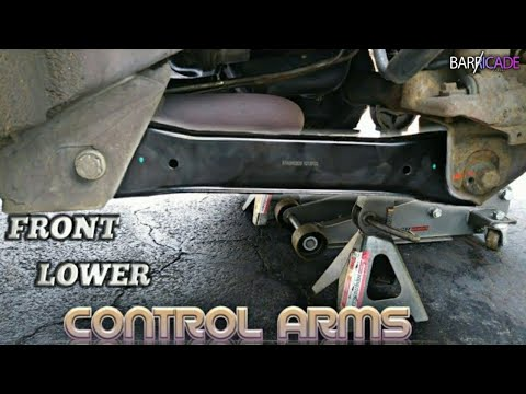 FRONT LOWER CONTROL ARM REPLACEMENT (1993-1998 JEEP GRAND CHEROKEE)