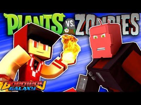 Boboiboy Api VS Bora Ra - Plants vs Zombies Minecraft Mods