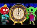 Midnight Adventure With Hickory Dickory Dock Song Spooky Nursery Rhyme For Kids HALLOWEEN SPECIAL