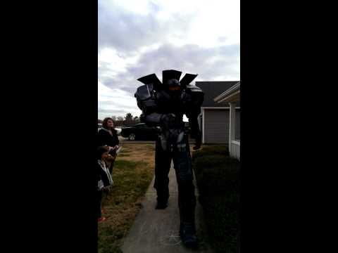 My gypsy danger costume