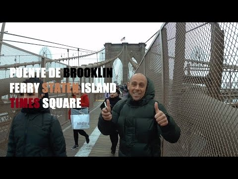 BROOKLYN BRIDGE, TIMES SQUARE