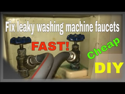 How to fix leaky washing machine faucets! - ForceTV 050