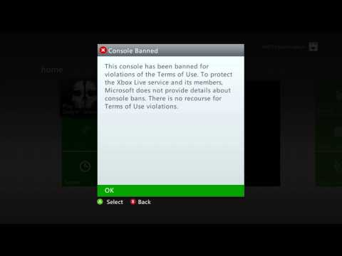 My Xbox 360 gets Console banned after playing Call of Duty: Ghosts