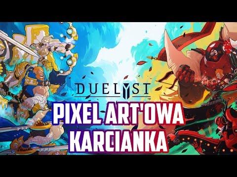 Duelyst gameplay pl - Pixel Art'owa Karcianka (Private Beta)