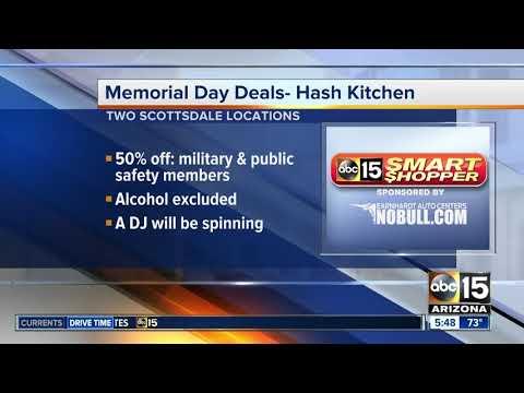 Memorial Day deals for veterans