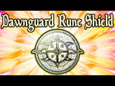 Skyrim SE - Dawnguard Rune Shield - Unique Shield Guide