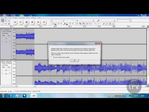 How To Merge 2 Songs Together Using Audacity