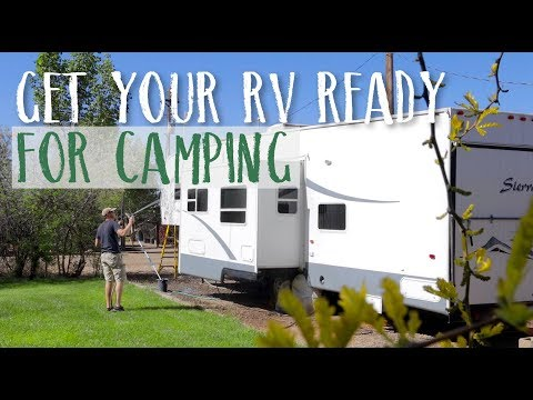 How To Dewinterize Your RV. Get Your RV Ready For The Camping Season
