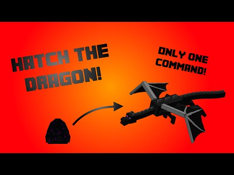 Minecraft DragonHatch [Only One Command] - Hatch the EnderDragon!