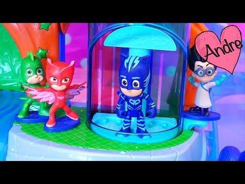 Juguetes de PJ Masks - Heroes en pijamas rescatan a Peppa Pig My Little  Pony LPS 531744fd49f