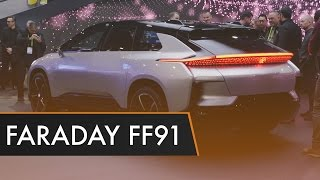 Faraday Future FF91 - First Impressions | CES 2017