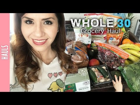 Whole 30, Grocery Haul of the Week - The290ss