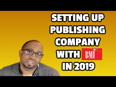 Setting up Publishing Company with BMI in 2017 Step by Step. How To Fill Out Online Application