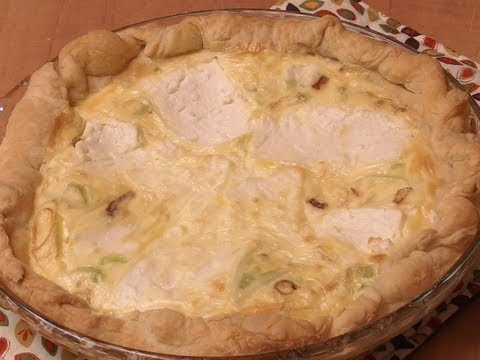 Leek & Feta Quiche with Michael's Home Cooking