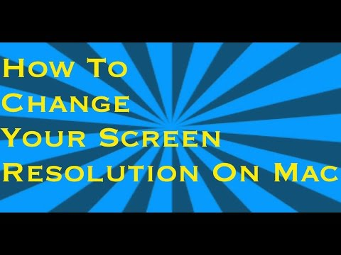 How to Change Your Screen Resolution On Mac