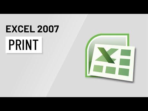 Excel 2007: Printing