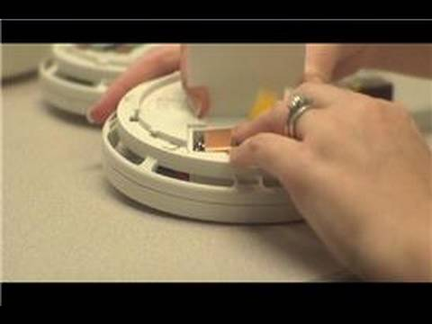 Home Fire Safety : How to Change Smoke Detector Batteries