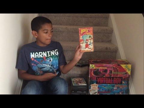 Virtual Boy, Gamecube, NES & More Flea Market & Goodwill Video Game Hunting