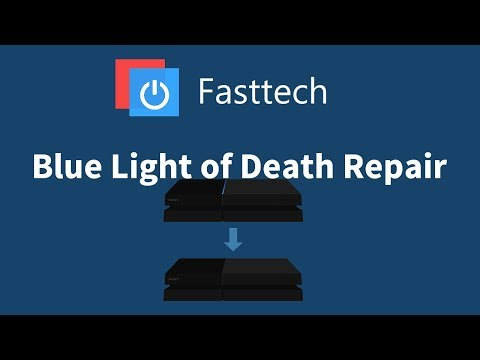 PS4 BLOD (Blue Light of Death) Repair (CUH-1001A and CUH-1115A) - PS4 Turns On then Off