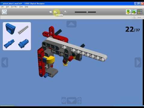 LEGO Rubber Band Gun - Building Instruction