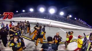 360 VIDEO: THE NO. 78 STALL ERUPTS AFTER TRUEX TAKES THE TITLE