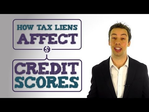 How Tax Liens Affect Your Credit Scores and Credit Repair Program