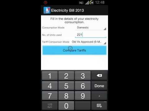 Lanka Electricity Bill 2013 v2 : App Demo