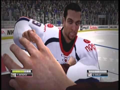 NHL 13 Troll Goalie Fight