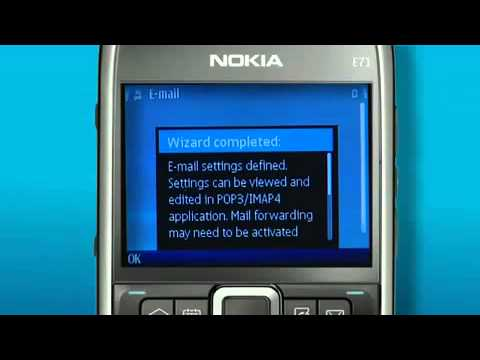 How to - Setup webmail on your Nokia E71 connected to Telstra