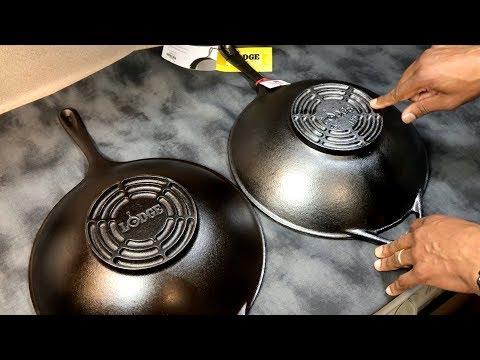 The New Lodge Cast-Iron Wok | Unboxing & Comparison