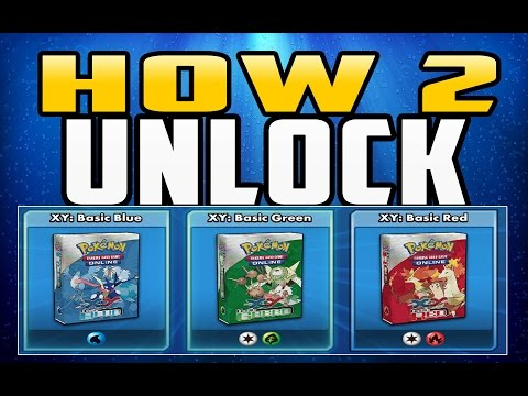 How To Unlock XY Basic Decks in Multiplayer (Pokemon TCG Online)