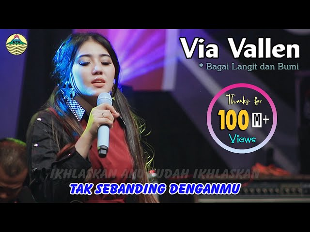 Via Vallen - Bagai Langit Dan Bumi |   Official