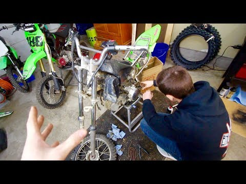 Mini $500 Pit Bike Build...