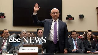 Jeff Sessions testifies again before Congress