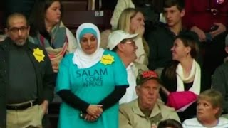 Muslim Woman Booted From Trump Rally