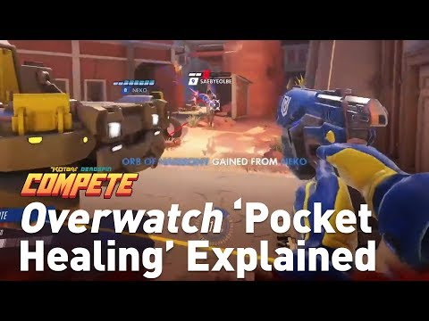 Overwatch Pocket Healing Explained In Two Minutes | Compete!