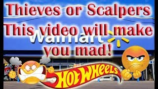 Scalpers? Theives? or Both? This Video will make you mad! | Hot Wheels