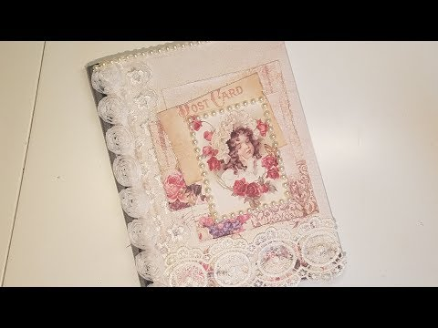 Easy and Fast Altered Composition Notebook Tutorial