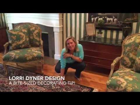 Decorator's Hardwood Floor Trick