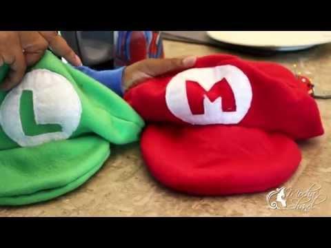 DIY Mario, Luigi and Princess Peach Halloween Costumes 2015