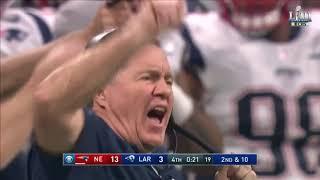 NFL super bowl 53 last minutes!