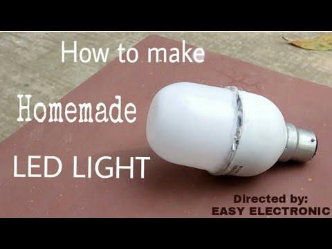 How to make a homemade LED Light