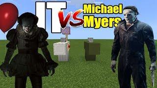IT vs Michael Myers | Minecraft PE