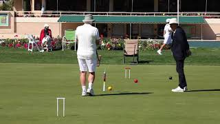 Croquet(ac):2018 Us Nationals - Doubles Final Game Two