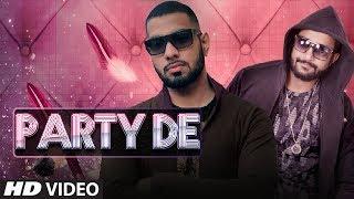 """PARTY DE"" Latest Pop Song Video | Nambardar | Feat. David"