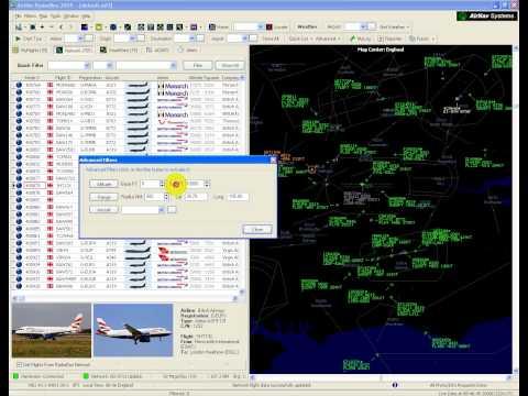 Using the RadarBox Altitude Filter