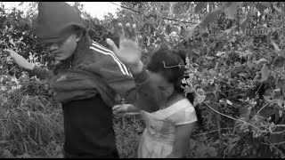 Short film lost every think,a boy and girl at the forest